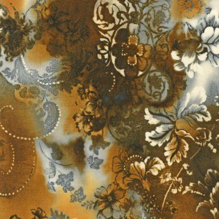 Robert Kaufman Fabrics: EYJ-10410-180 RUSSET from Mademoiselle