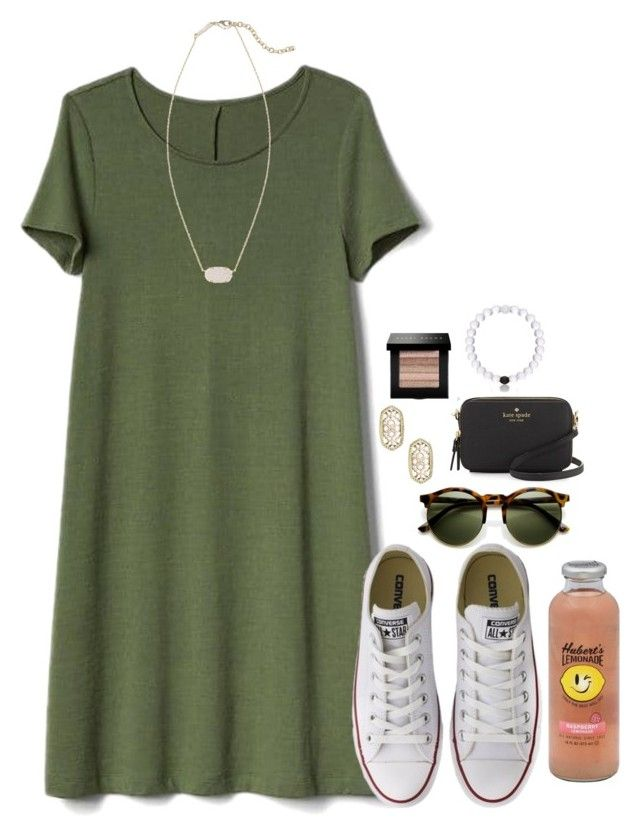 Going to Orlando for the day;) by flroasburn on Polyvore featuring polyvore, fashion, style, Gap, Converse, Kate Spade, Kendra Scott, Bobbi Brown Cosmetics, Hansen and clothing