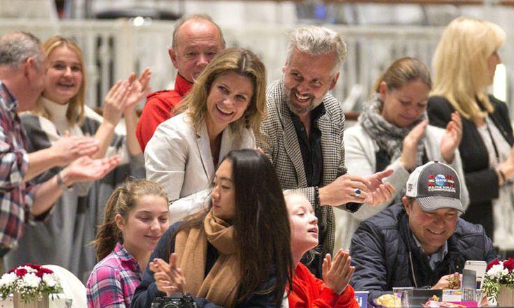 Marta Luisa de Noruega y Ari Behn, juntos tras su separación en la Demostración del Caballo de Oslo