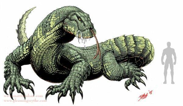 Giant Subterranean Lizard In 2019 Beast Creature Fantasy
