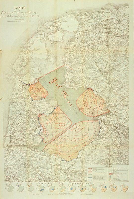 Het plan van Cornelis Lely uit 1891