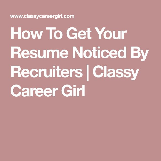 25+ unique How to resume ideas on Pinterest Resume skills, Job - different types of resumes format