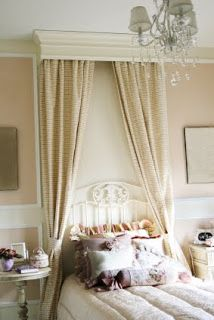 Best Decor Ideas Bedrooms Images On Pinterest Bedroom Decor - Canopy idea bed crown