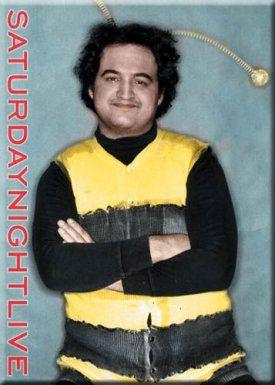 John Belushi in his bee suit