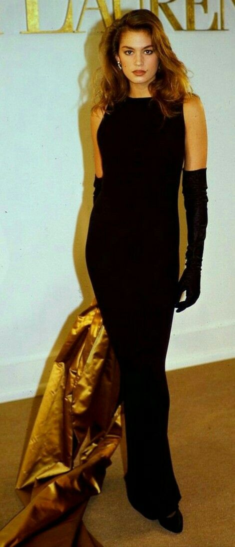 Cindy Crawford Walked For Ralph Lauren 1989 Cindy Crawford Runway