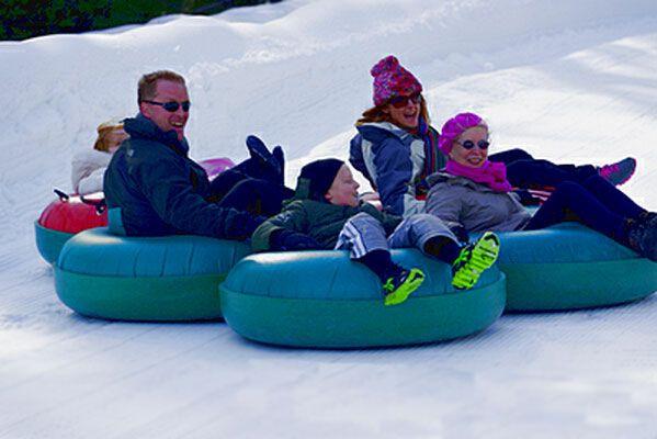 Frozen Falls Tube Park | Ski Snowboarding Snow Tubing North Carolina, North Carolina Ski Resorts