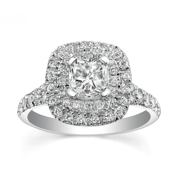 GLACIER FIRE CANADIAN DIAMOND .80CTW WHITE GOLD BRIDAL RING ($3,799) ❤ liked on Polyvore featuring jewelry, rings, bridal jewelry, bridal charms, band rings, diamond band ring and white gold charms