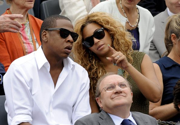 Beyonce Knowles Photos - The men's final of 2010 French Open at Roland Garros tennis stadium. - Roland Garros 2010 Final