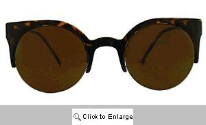 Coquette Cat Eye Sunglasses - 279 Tortoise