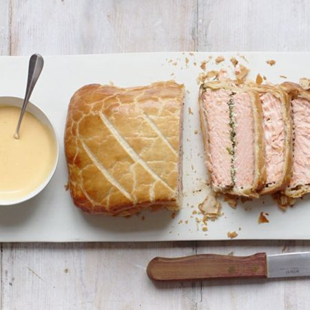 Gordon Ramsay's salmon en croute recipe. For the full recipe, click the picture or visit RedOnline.co.uk