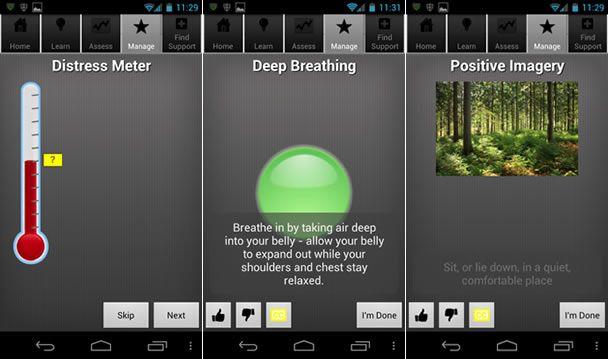 PTSD Coach, app om PTSD-klachten te ondersteunen