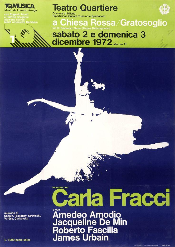 1972/73 Incontro con Carla Fracci, Teatro Quartiere