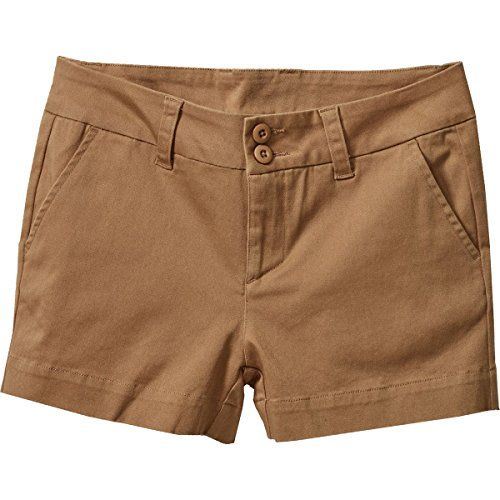 KAVU Women's Catalina Shorts, Tobacco, Size 12 *** Want additional info? Click on the image. #WomensCampingClothing