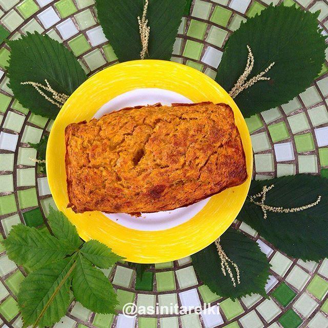 Диетический тыквенный кекс на завтрак