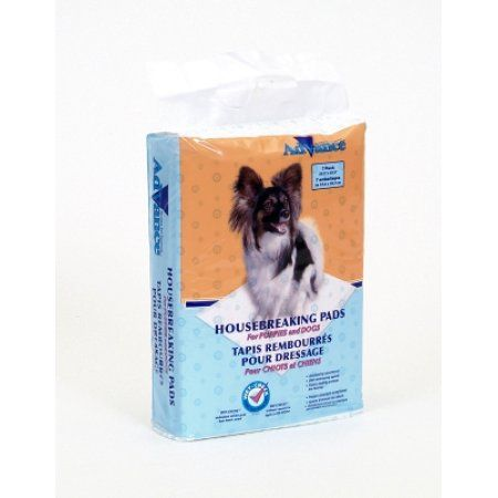 Advance Dog Training Pads With Turbo Dry Technology 7/Pkg, White