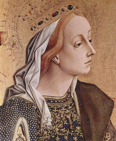 Painting of St. Catherine by Carlo Crivelli