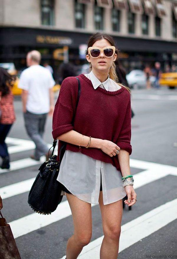 6 maneiras diferentes de usar camisa branca