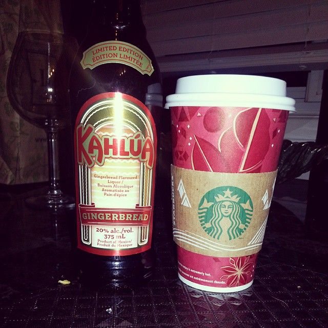 Star Bucks Gingerbread Latte With Limited Edition