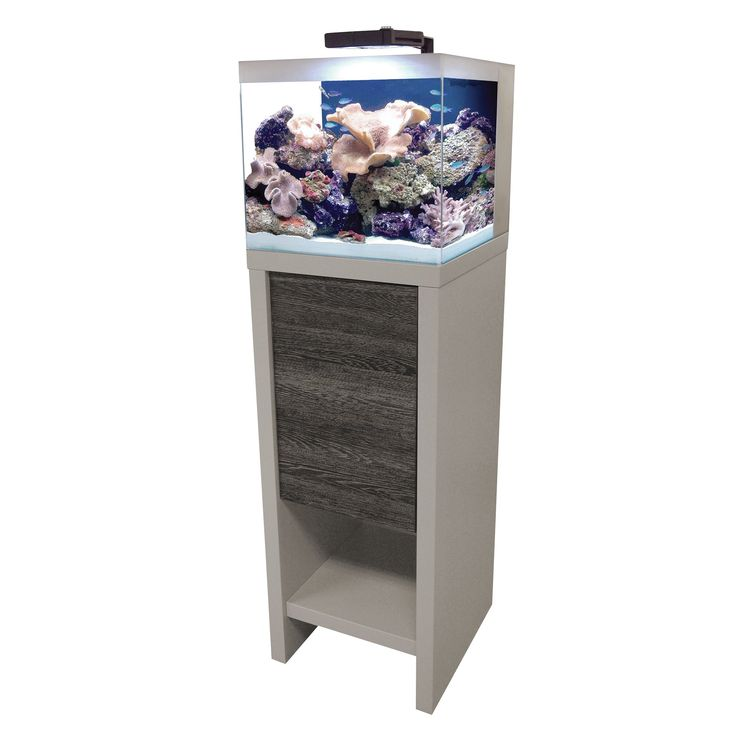 Designed with clean lines and a contemporary finish, the Fluval Reef aquarium and stand set comes equipped with everything you'll need to recreate a successful marine reef at home, including Fluval's widely popular Marine & Reef Performance LED.