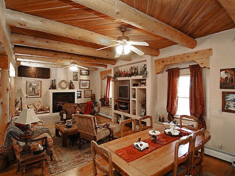 southwest style pueblo desert adobe home - South West Adobe Home Designs