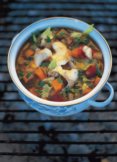 Pinterest the world s catalog of ideas for Fish soup recipe cod
