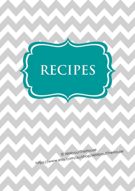 23 best images about recipe cover ideas on pinterest cover pages