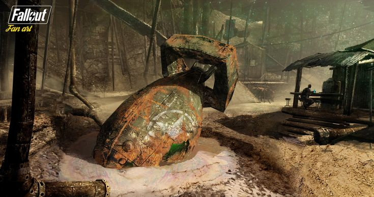 ArtStation - Welcome to Megaton, Will Pitney
