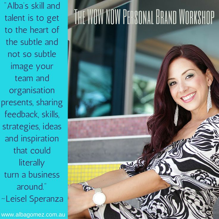 The WOW NOW Personal Brand Workshop