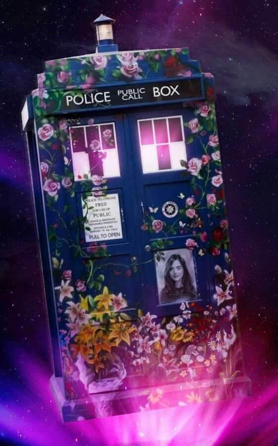 Doctor Who Clara Oswald Tardis