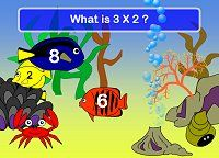 Times Tables Games - Fishy Tables (and many other games)