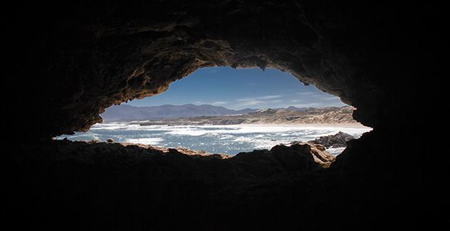 Explore the remarkable history of humans at Klipgat Cave in Walker Bay Nature Reserve
