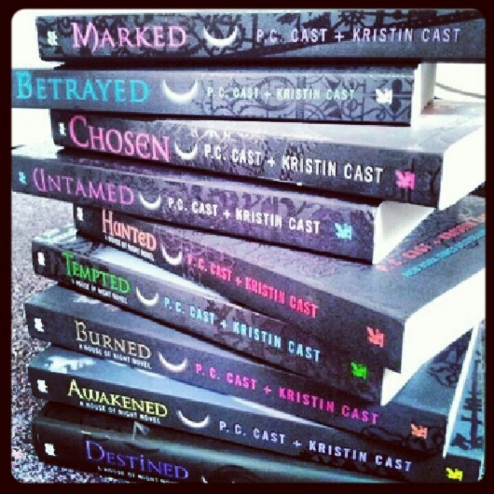 House of Night Novels by: PC Cast and Kristen Cast
