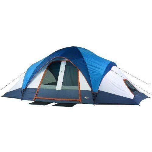 Outdoor Camping Hiking Beach Tent Huge Family Shelter 10 Persons 2 Doors NEW #MountainTrails