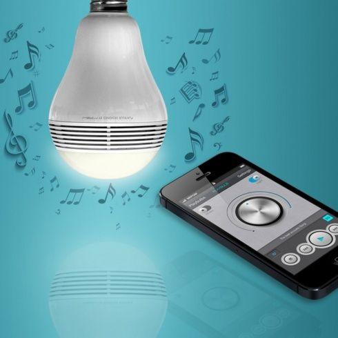 HUDBA ZO ŽIAROVKY? NO PROBLEM! | Smart žiarovka s reproduktorom MIPOW PLAYBULB