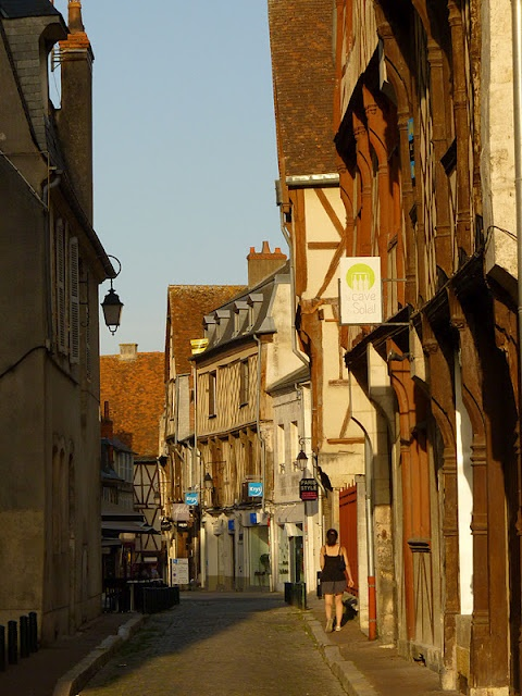 Bourges - central France.  Beautiful Town with a fantastic illuminated night…