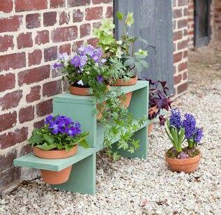 Fabriquer une étagère pour plantes.