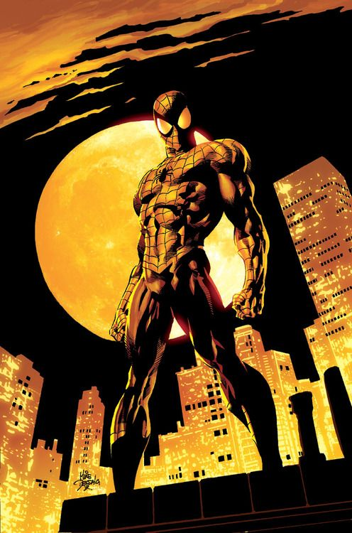 Amazing Spider-Man #528 Cover Art  Lines by Mike Deodato Jr.   Colors by Rain Beredo