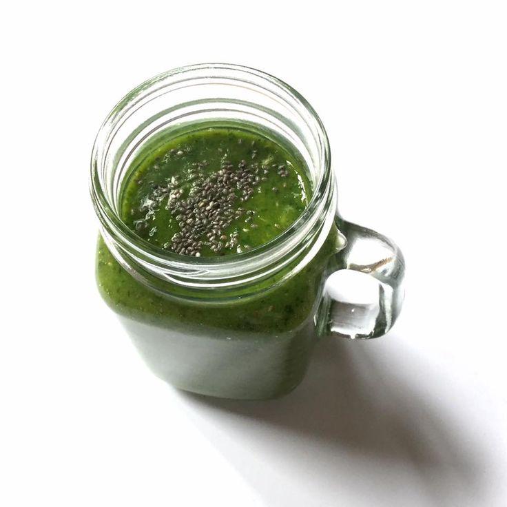 Zielony sok #greensmoothie #chia #healthy #detoks