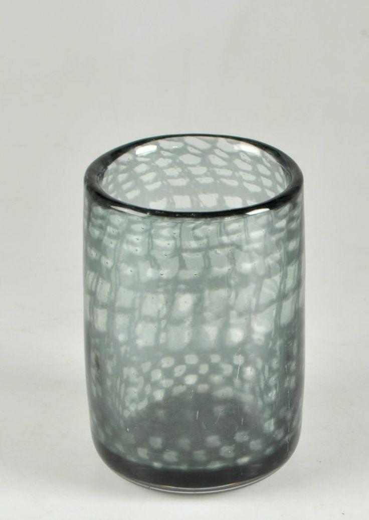 ** Ingeborg Lundin graal glass bowl, Orrefors 1970.