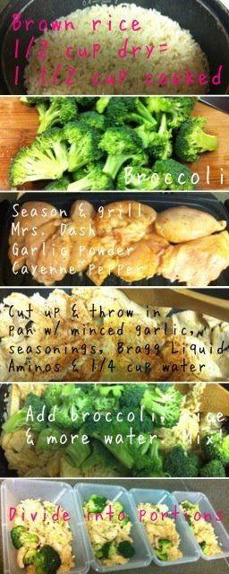 Diary of a Fit Mommy: Easy Meal Prep Recipe for the Week!