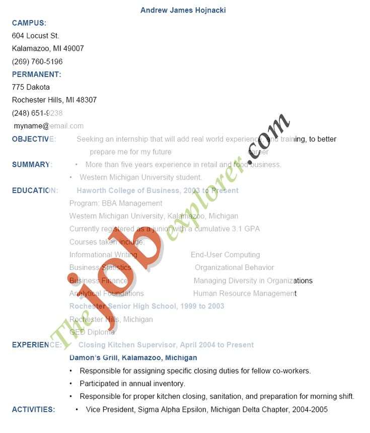 high school student job resume httpwwwresumecareerinfo. Resume Example. Resume CV Cover Letter