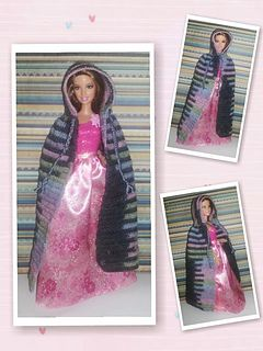 This pattern will fit most fashion dolls, such as Barbie, Monster High, Ever After High, and Disney fashion dolls.