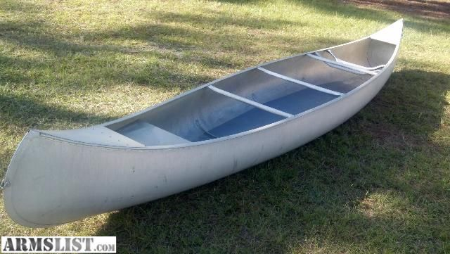 The things you can do with a basic Grumman Aluminum canoe.