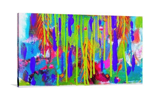 INCARNATION [HE-3247Y] - $449.00 | United Artworks | Original art for interior design, buy original paintings online