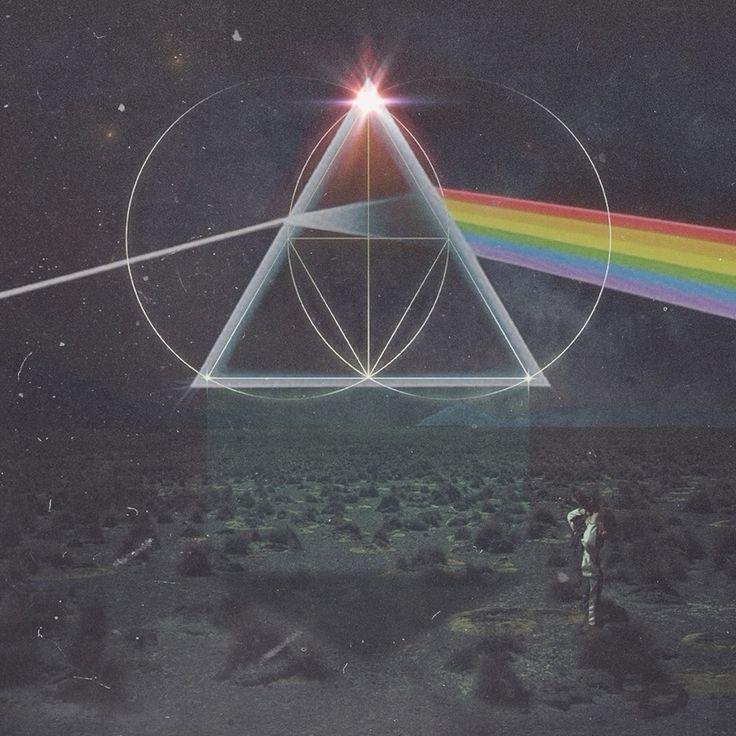 The Glitch Mob - Drink The Sea x Pink Floyd - Dark Side Of The Moon [960x960]
