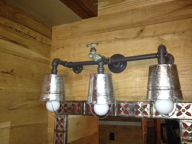 Vanity Lighting for The Bunkhouse made by David A. Gechter