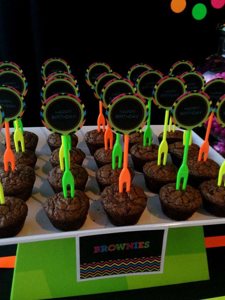 Neon Glow In The Dark Birthday Party Ideas Photo 3 Of