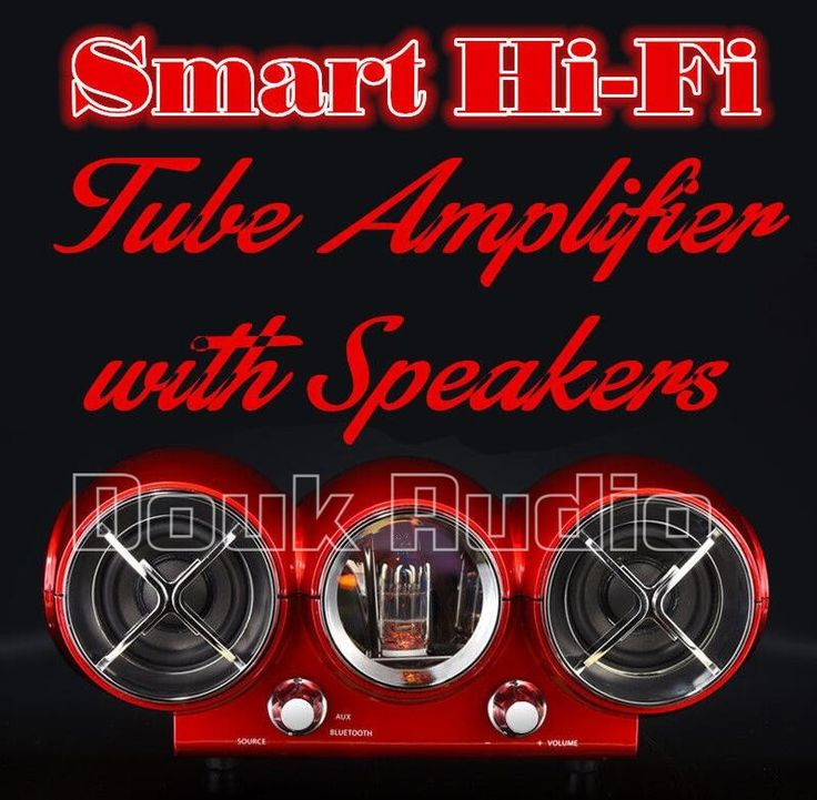 294.40$  Buy now - http://ali2fp.worldwells.pw/go.php?t=32739465109 - 2016 New Douk Audio Smart Bluetooth HiFi Stereo Vacuum Tube Amplifier with Speaker for Multimedia PC 294.40$
