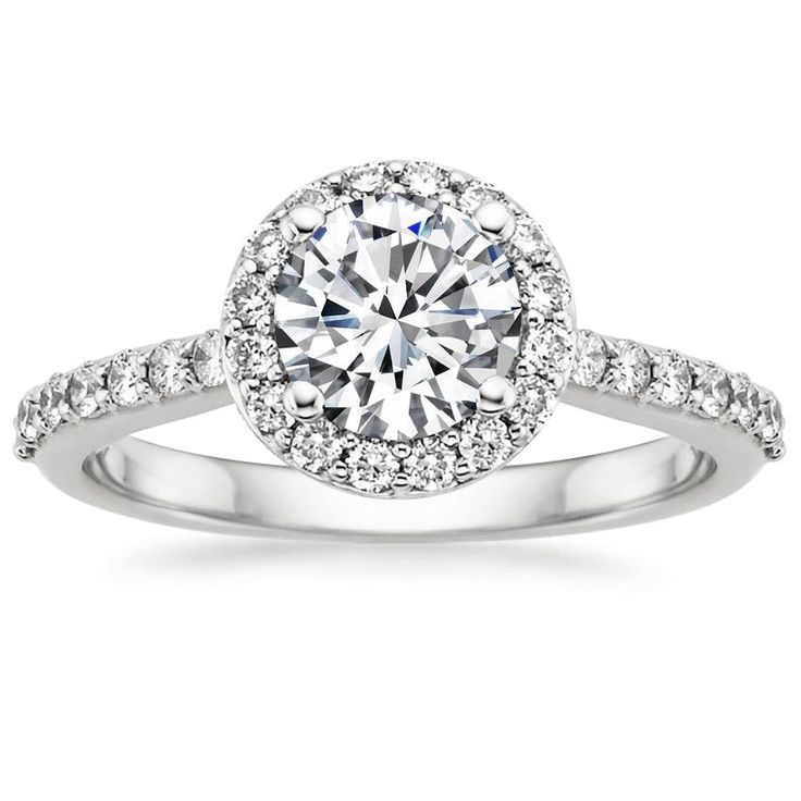 Brilliant Earth's gorgeous halo design takes inspiration from a  Cartier classic at only a fraction of the price.