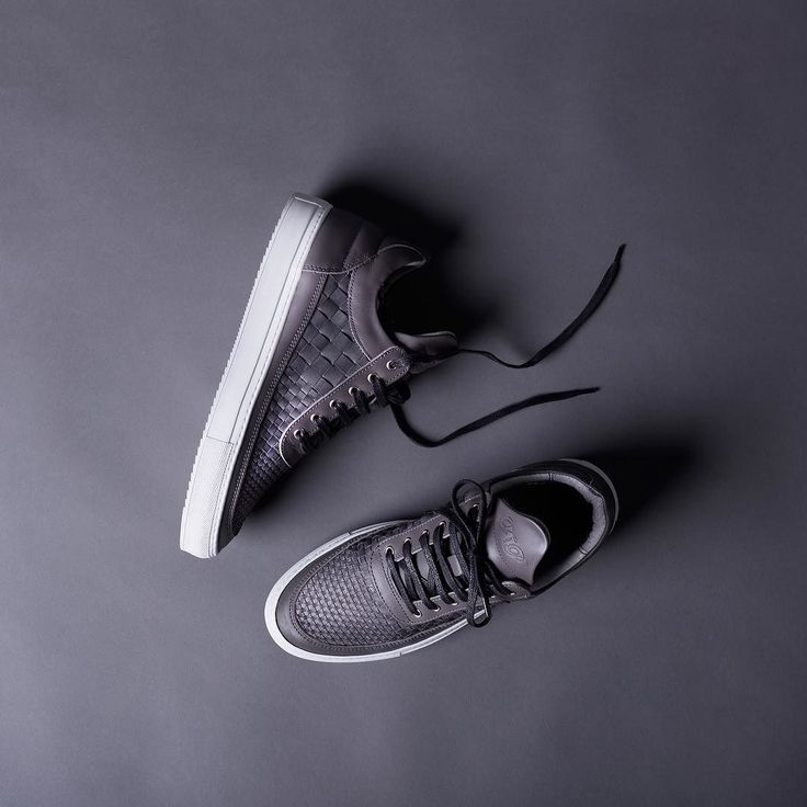 A premium grey tanned ACP Woven leather upper combined with a white Italian ripple sole on our staple Low Top silhouette. One of the styles available at the online men's style retailer @mrporterlive. Shop at www.mrporter.com. by fillingpieces